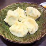 ホワイト餃子 - ゆで餃子(5個) ¥280