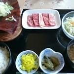 レストラン あるぷす - 朴葉味噌ステーキ膳(クーポン)