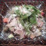43810108 - 勝浦天然カジキマグロのサラダ(1,100円)