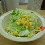 松屋 高田馬場店 - サラダ