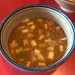 つけめん Shin. - スープ割り