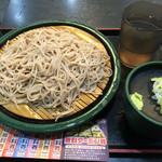 ゆで太郎 - もりそば(320円)
