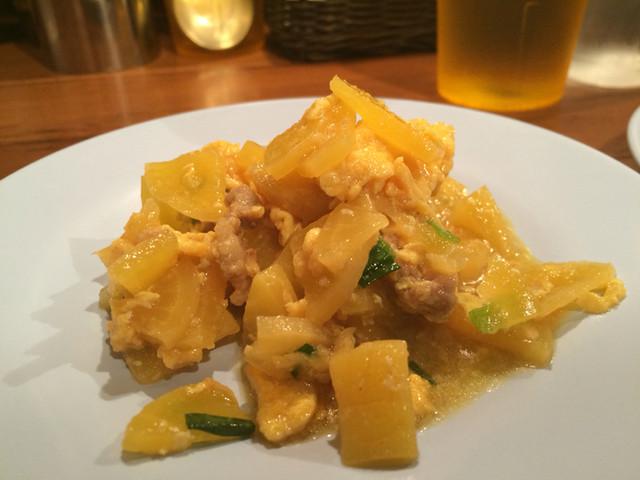 パッポンキッチン - たくあん豚玉子炒め