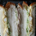 港南中央地域活動ホーム そよかぜの家 - サンドイッチ