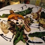 ALTO - 焼き夏野菜のバルサミコソース