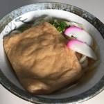 天野製麺所 - きつねうどん小 270円
