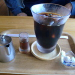 風待ちの丘 ルン - アイスコーヒーです♪