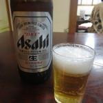 レストラン割烹 いずみ屋 - 瓶ビール(大瓶) 650円(税別)
