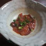 レストラン割烹 いずみ屋 - つき出しのイカの塩辛 150円(税別)