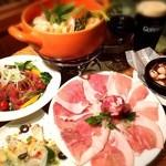 Irish pub Booties・・・ - 松阪豚ロースのトマチリフォンデュ