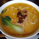 紅魯坊 - 白胡麻担々麺(辛さup注文)\980/紅魯坊(中井)