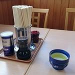 もりや食堂 - 調味料類