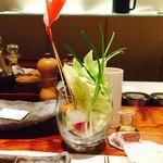 43850911 - オサレな野菜盛り♡