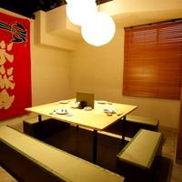 ゆっくりお食事を楽しめる個室