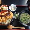 元六庵 - 料理写真:特選 めちゃうまヒレかつ重(味噌)(1200円)