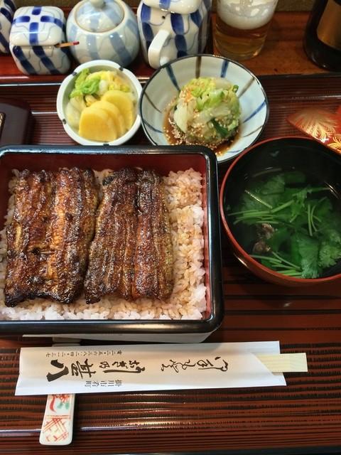 うなぎの甚八 - うな重(松)2500円