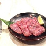 溶岩炭焼肉 燦然 - 上タン塩¥1069