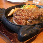 ステーキレストラン 味蕾館 - サーロインステーキ
