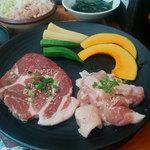 七輪焼肉安安 - ランチBセット