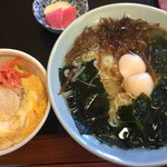 43855592 - 磯ラーメン+ミニほたて丼セット