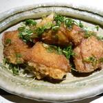 旬食和心 志 - 地鶏竜田揚げ