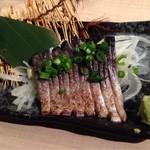 まるし  - 炙り大トロしめ鯖