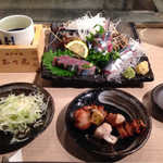 居酒屋まるし - 日本酒とアテたち・・(笑)