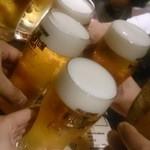 43858773 - 2杯目も生ビール♪