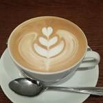 43859158 - ランチのカフェラテ +100円
