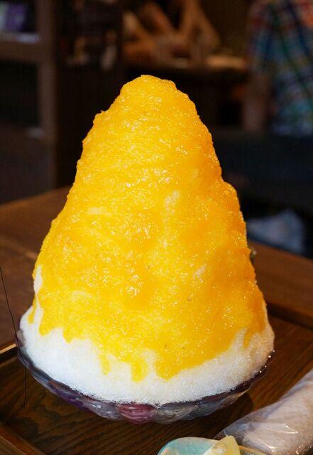 カフェ 火裏蓮花 - 橘香るけずりひ。(980円)