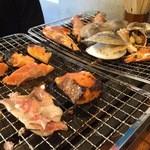 第二漁村 浜焼センター あぶりや - 海鮮BBQ