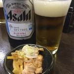 43862378 - 瓶ビール(アサヒ)