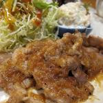 日本料理 旬坊 - 豚生姜焼き