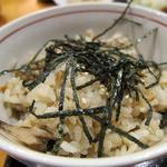 日本料理 旬坊 - きのこ炊き込みご飯