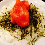 博多麺屋台 た組 - 明太ご飯