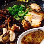 博多麺屋台 た組 - 黒チャーシューメン