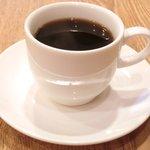 43865752 - 本日の丼ぶり 1350円 のコーヒー