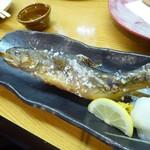酒讃家 - イワナとマスの掛け合わせた魚・・。