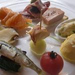 ボンシィク - 料理写真:オードブル盛り合わせ