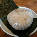 きく屋 - チャーシューおにぎり(150円)