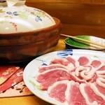 ほの花 - 鴨鍋