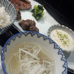 炭焼牛たん東山 - 牛たん三昧定食