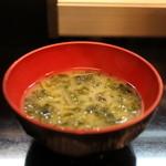 鮨の魚政 - 味噌汁☆