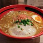 えびそば一幻 - 料理写真:えびみそ 太麺 そのまま ☆