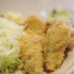 とんかつの 日高 - 牡蠣(かき)フライ