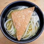 多田製麺所 - かけそのまま+お揚げ