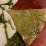 Patisserie &Restaurant Amour - 生地には船橋産小松菜とイタリア産小麦粉を使用
