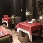 Patisserie &Restaurant Amour - 外はテラス席