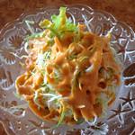 Himalayan - セットのサラダ