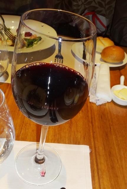 レストラン トライベックス - 赤ワイン・グラス(ヤルンバYシラーズ&ヴィオニエ)オーストラリア1200円